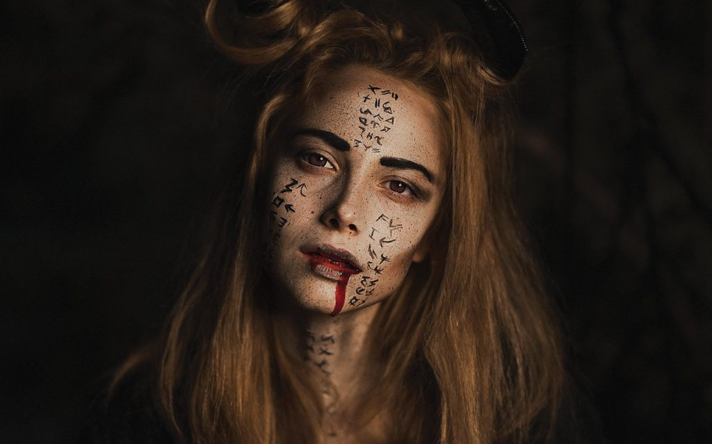 Vampire Halloween Costume Contacts
