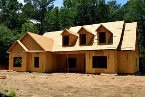 Construction of Wooden Home